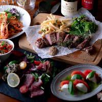 忘新年会にはお肉やパスタで彩る2H飲み放題付4,000円がおすすめ