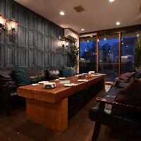 完全個室のお部屋が2ヶ所、半個室が1席ご用意!