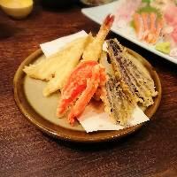 軽くて胃もたれしない、完全手作り天ぷら!!
