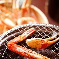 身がぎっしり詰まった蟹を茹でや鍋で堪能できるコースをご用意