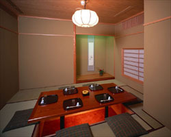 2階・宴席フロア(お座敷個室) 接待やファミリーの方に最適。