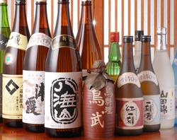 日本酒・焼酎多数揃えてます。お気に入りに出会えるかも!