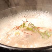 【参鶏湯】 健康に!!!韓国薬膳料理