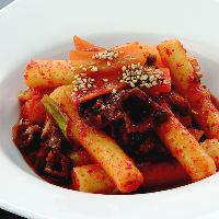 韓国料理トッポッキ!まずは一度お試し下さい。