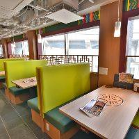 座敷席でゆったりと、韓国料理を楽しんでください