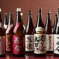 この時期のお料理と相性抜群。冷やおろし、秋あがりの日本酒も
