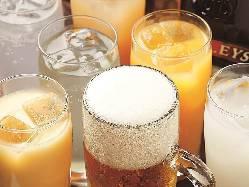通常飲み放題は毎日実施してます。 1500円(税込)です。