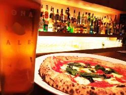 PIZZAとのマリアージュ。 食事の楽しさを加速させます。