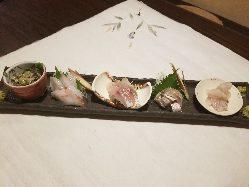 小田原産地魚のおいしさをお楽しみください。