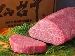 仙台牛最高部位ヒレステーキ