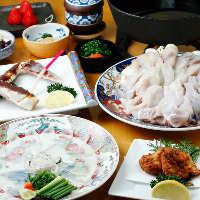 活魚が自慢! 天然素材を様々の調理法で…