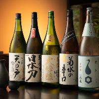 有名な日本酒から地元でしか知られていない銘酒まで約20種を厳選