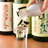 而今・田酒や鳳凰美田など人気の日本酒を多彩にラインナップ