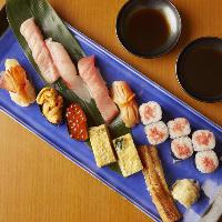 宮城県産の米と手仕込みのシャリ酢が織りなす食感をご堪能あれ