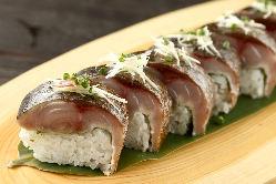 鮮度・味ともに抜群の「棒寿司」