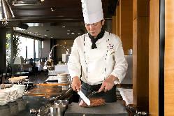 ライブキッチンで出来立てを・・・ 立川で味わう贅沢な時間をプロデユース