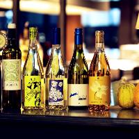 魚介と言えば白ワイン!自然派ワインも種類豊富にご用意有