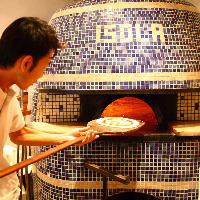 【石窯ピッツァ】 本場の味を堪能!絶品焼きたて熱々ピッツァ