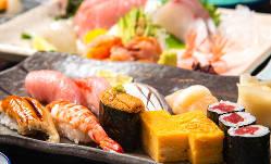 会社宴会にオススメ!旬鮮魚と季節料理のコース3,980円(税抜)~