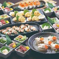 季節の食材満載♪飲み放題付きのご宴会は3,000円~各種ご用意♪