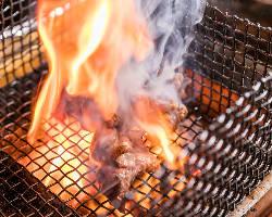 【名物『炙り焼き』】 噛めば噛むほど美味い!当店一押し料理