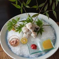 関西夏の風物詩鱧料理美味しいですよ是非一度お召し上がり下さい