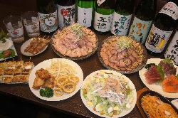 ★ローストビーフorポークのコース 2時間飲み放題付で3500円!!