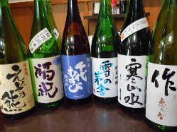 ◆銘日本酒フェア開催中!!◆