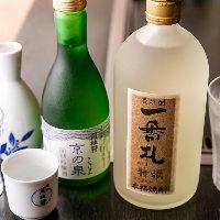日本酒に焼酎、ビールやサワーに梅酒など、各種ございます