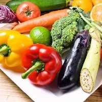 三浦の契約農家より毎朝届けられた 季節の新鮮な野菜♪
