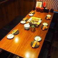 ★6名テーブル席★