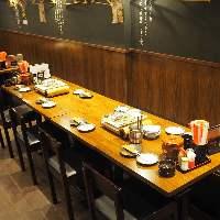 ★8名テーブル席★