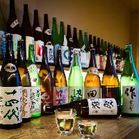 自慢の日本酒をお手軽価格でご案内。