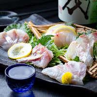 鮮度はもちろん関東であまり流通しない魚などもお楽しみ頂けます