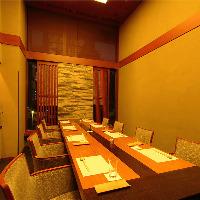 お部屋ごとに異なる雰囲気もまた魅力の全席個室(2名~12名様)