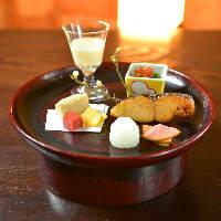 料理は季節を感じる魚介や野菜を中心に数多くご用意