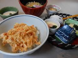 由比から届く桜海老のミニ天丼セット