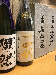 ◆各地の地酒◆ 季節限定や旬の地酒を多数ご用意♪うまい酒!