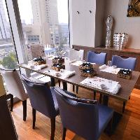 ◆横浜を一望◆ お顔合わせ・会食利用におすすめの半個室席