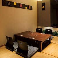 少人数でお楽しみいただける個室もございます!