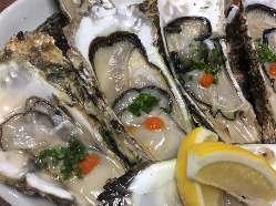 毎年大好評の牡蠣祭り1個100円!