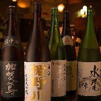 【厳選焼酎と地酒】メニュー以外の季節商品も多数ご用意!