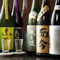 而今や鍋島をはじめ、全国の珍しい日本酒も味わえる!