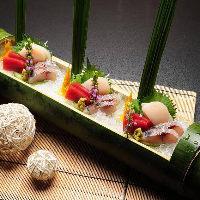[目にも美しく] 四季を表現する会席料理で旬をご堪能ください