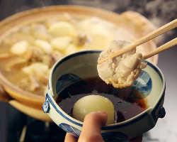 [伝統の味] 水たき番により味と技が受け継がれた伝統の水たき