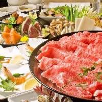名物しゃぶしゃぶは京つゆで食べる上品な味わい。