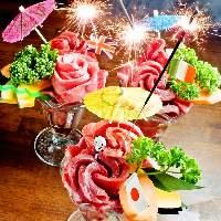 """""""肉パフェ""""は黒毛和牛で彩る必見の一品。飯田橋の人気焼肉屋"""
