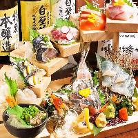 九州直送朝獲れ鮮魚や佐賀牛,松坂豚が旨い!!立川で宴会NO,1♪