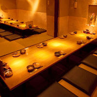 【個室】 2~60名様までご案内可能な多彩な個室を完備!