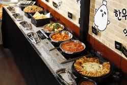 【バイキング】 本格的な韓国料理を意識した絶品揃い